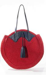 Resim Leather  Circle Bag